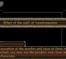 Staff of Transformation