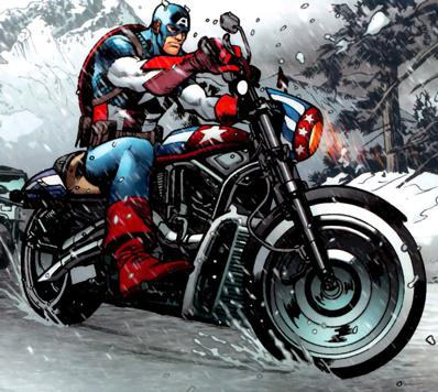 Captain America's Motorcycle (Earth-616)
