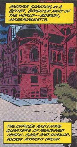 Doctor Druid's Sanctum from Secret Defenders Vol 1 15 001