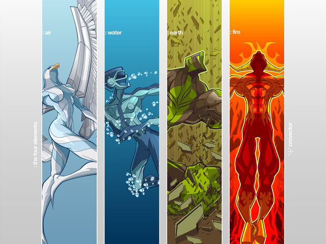 File:Four Elements wallpaper by CrisVector.jpg