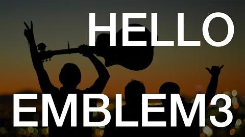 Adele - Hello (Emblem3 Cover)