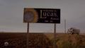 Lucas, Kansas sign.png