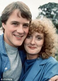 Ian Sharrock and Beverley Callard