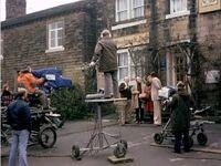 Esholt filming 1976