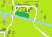 EMMERDALE VILLAGE MAP
