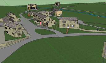 3d simulation of beckindale now emmerdale in march 1988 for Wallpaper home farm emmerdale