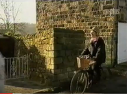 Emmie betty on bike 1995