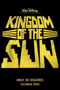 Kingdom of the sun teaser poster