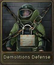Demolitions Defense