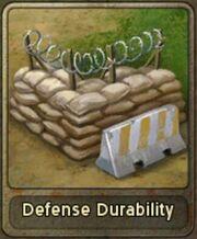 Defense Durability