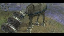 Power generator with AT-AT