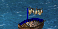 Fishing raft