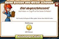 Keine Kosten und Mittel scheuen Belohnung (German Reaward text)