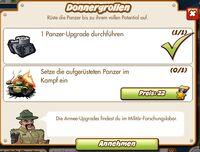Donnergrollen (German Mission text)