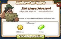 Schwarm der Meere Belohnung (German Reward text)