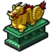 Goal Golden Dragon Statue