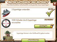 Marine-Luftmacht neu definiert (German Mission text)