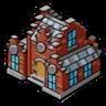 Goal large brick house
