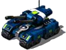 Super Red Flag Tank