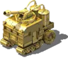 The Gold Inferno Tank