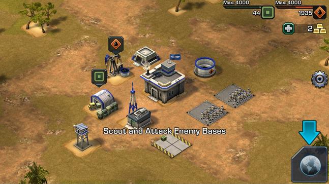 Mobile ScoutAndAttack