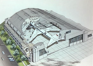 Hangar structure