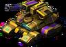 Blazing Frank Lloyds Tank