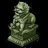 Goal Jade Lion Statue