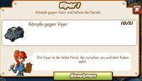 Viper I (German Mission text)