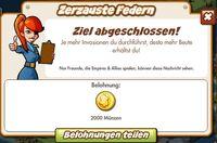 Zerzauste Federn Belohnung (German Reward text)
