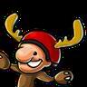 Moose Horn Helmet
