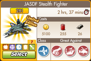 Upgraded JASDF Stealth Fighter