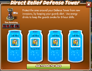 Direct Relief Defense Tower Full