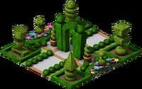 Park Shape Garden
