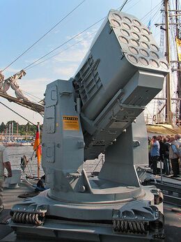 450px-RIM-116 Rolling Airframe Missile Launcher 3