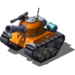Sherman Tank Orange