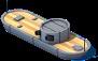 Ironclad Gunboat Front