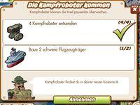 Die Kampfroboter kommen (German Mission text)