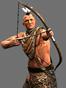 Native american archers icon infb