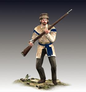 Long Rifle Men