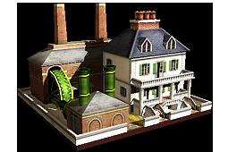 Steam-Powered Sugar Mill