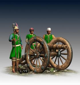 18-lber Foot Artillery