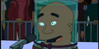 George Foreman's head