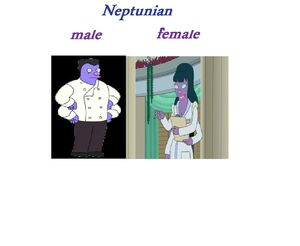 Male,female,neptunian