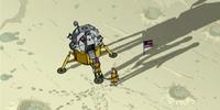 Original lunar landing site