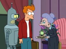 Fry, Bender and Mrs. Mellonger