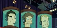 Beastie Boys' heads