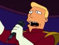 Zapp singing