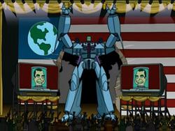 Robot Nixon body