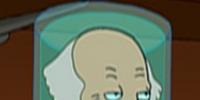 Martin Van Buren's head